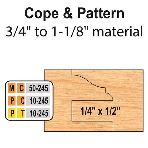 Freeborn PC-10-245 6pc Cabinet Door Set | PMC Woodworking Machinery & Tools | Hammond, LA