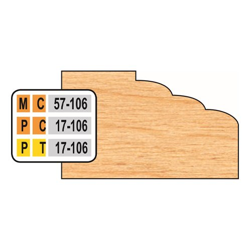 Freeborn PC-17-106 Door Edge Top Cutter   PMC Woodworking Machinery & Tools   Hammond, LA