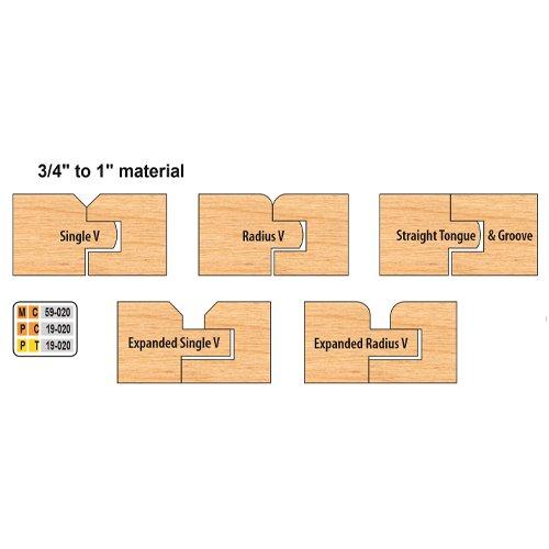 Freeborn PC-19-020 7pc Flooring Set | PMC Woodworking Machinery & Tools | Hammond, LA