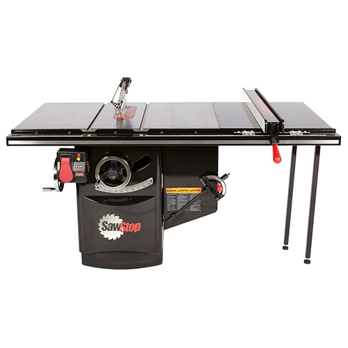 """SawStop 5HP 3PH_230V Industrial Cabinet Saw with 36"""" Fence - ICS53230-36 