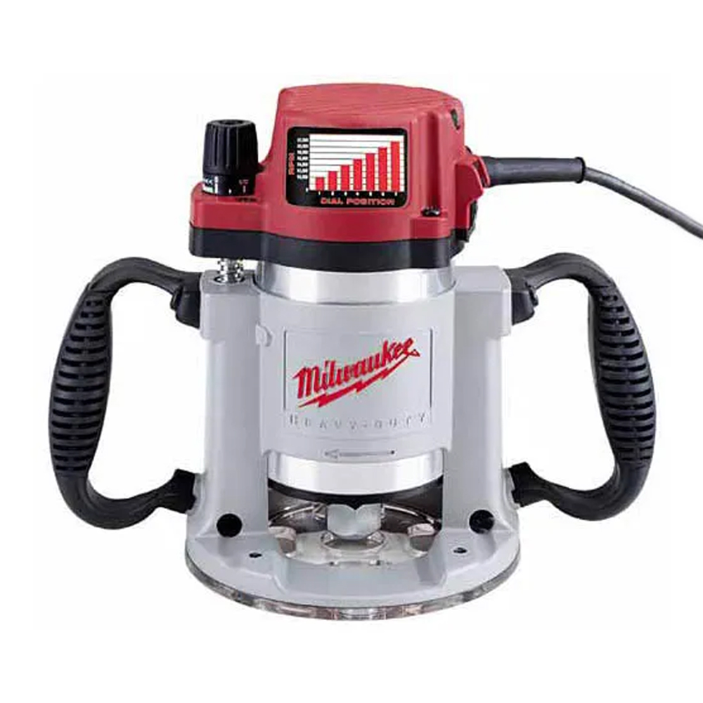 Milwaukee 3-1/4HP Fixed-Base Router