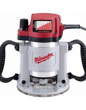 Milwaukee 3-1/4HP Fixed-Base Router | PMC Woodworking Machinery & Tools | Hammond, LA