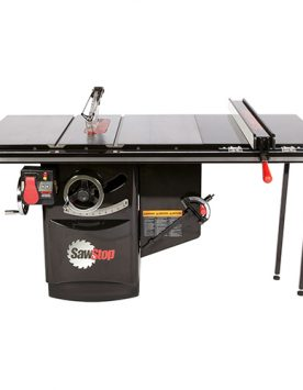 """SawStop 5HP 3PH_480V Industrial Cabinet Saw with 36"""" Fence - ICS53480-36   PMC Woodworking Machinery & Tools   Hammond, LA"""