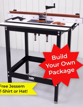 Jessem Mast-R-Lift II Router Table Package - Build Your Own | PMC Woodworking Machinery & Tools | Hammond, LA