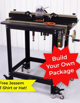 Jessem Ultimate Router Table Package - Build Your Own | PMC Woodworking Machinery & Tools | Hammond, LA